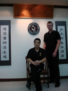 SiFu Donald Mak and Robert