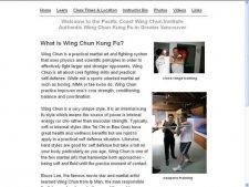 Pacific Coast Wing Chun Institute