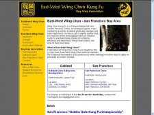 East-West Wing Chun: Berkley