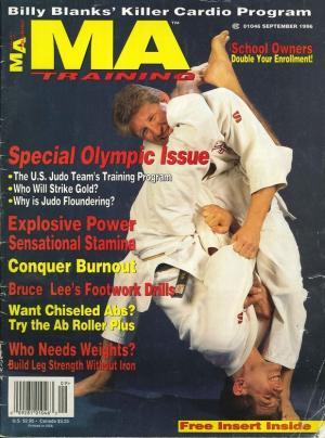 MA Training magazine featuring Anthony Arnett Cover