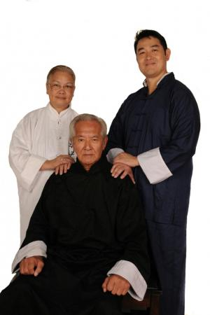 Sifu GM Wong Long Ching and Sifu Clark Tang