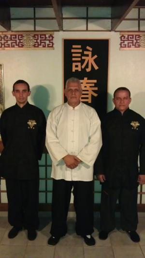 Sifu Jose Colon and the new Sifu's
