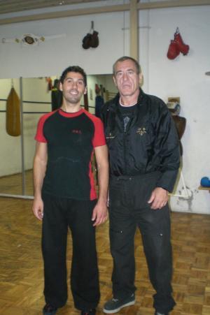 SiFu Stefano and Master Prosenica