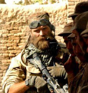 Sgt Jesse MacGregor during OIF/OEF