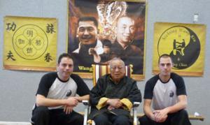 Sifu Wang Kiu, Dennis Wetter & Jerome Lam