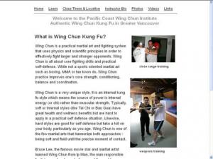 Pacific Coast Wing Chun Institute