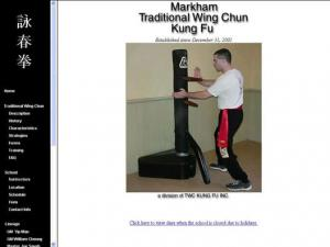 Markham Traditional Wing Chun Kung Fu