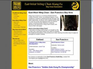 East-West Wing Chun: Oakland