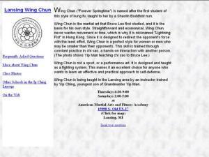 East Lansing Wing Chun
