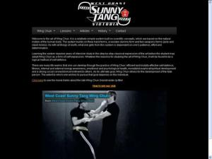 West Coast Sunny Tang Wing Chun Kung Fu