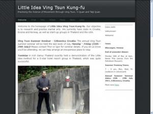 Little Idea of Wing Chun Kung Fu