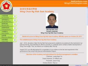 Wing Chun Ng Wah Sum Academy