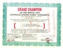 Grand Champion Award 1990