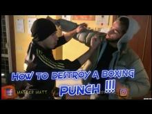 Embedded thumbnail for How to Destroy a Boxing Punch for Beginners - Wan Kam Leung Practical Wing Chun