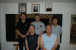 Sifu, his sihing and 3 of his students (including me of the left, back row)